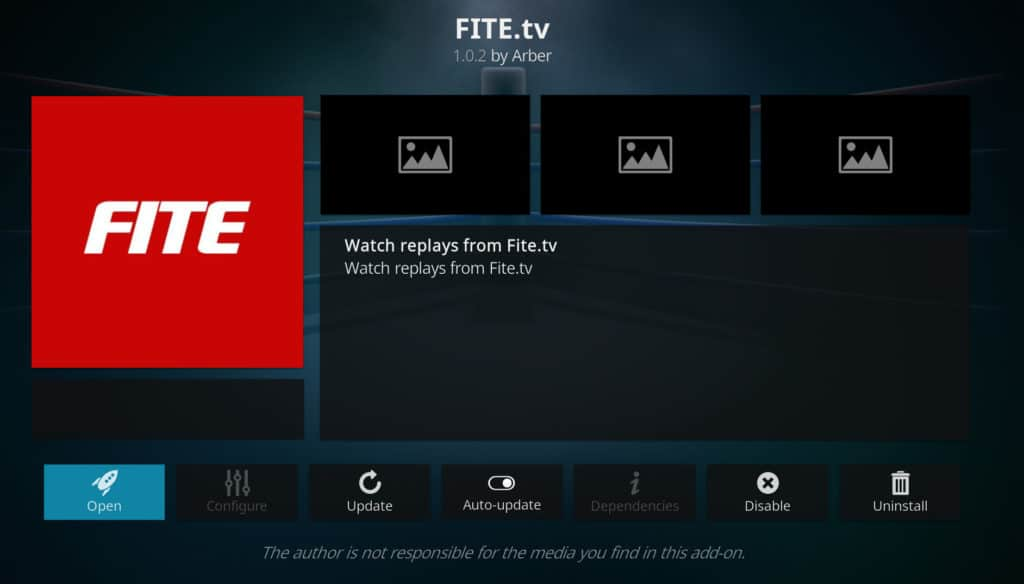 Fite.tv best kodi addons