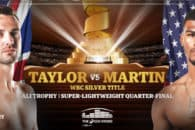 How to watch Josh Taylor vs Ryan Martin online live stream