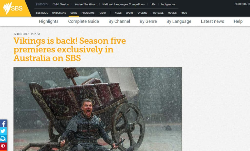 Vikings on SBS image 2