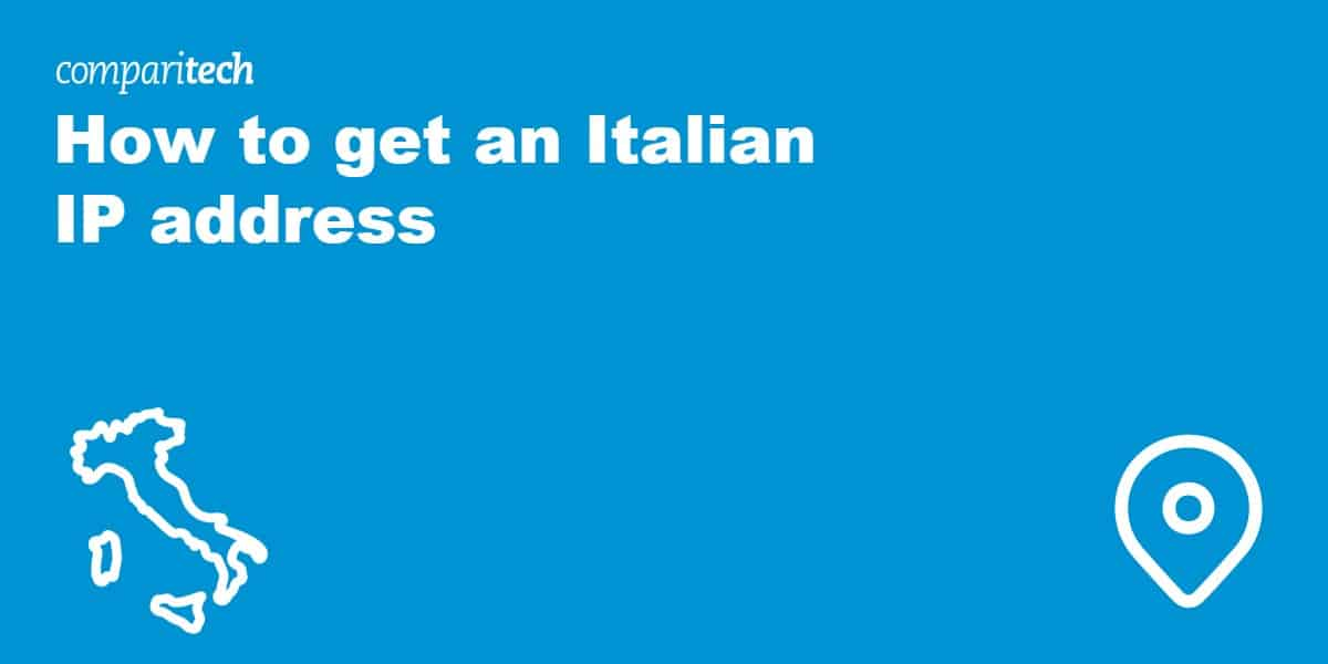 get Italian IP address