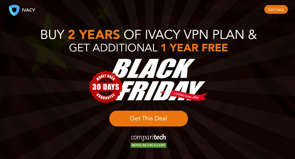 IvacyVPN Black Friday