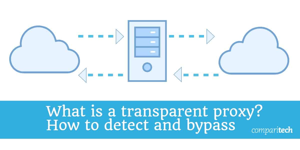 What is a transparent proxy? How can you detect and bypass them