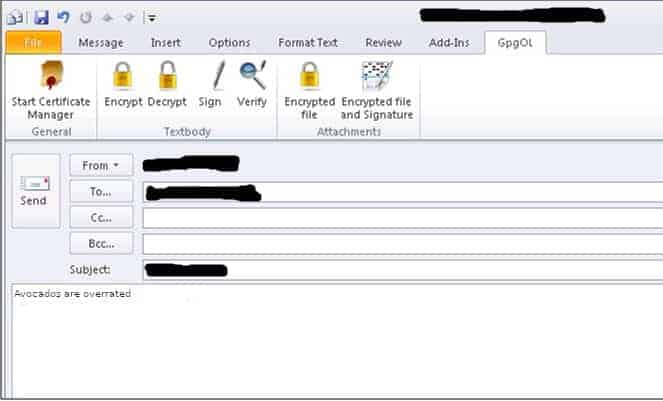 How to use PGP encryption with Outlook using Gpg4win | Comparitech