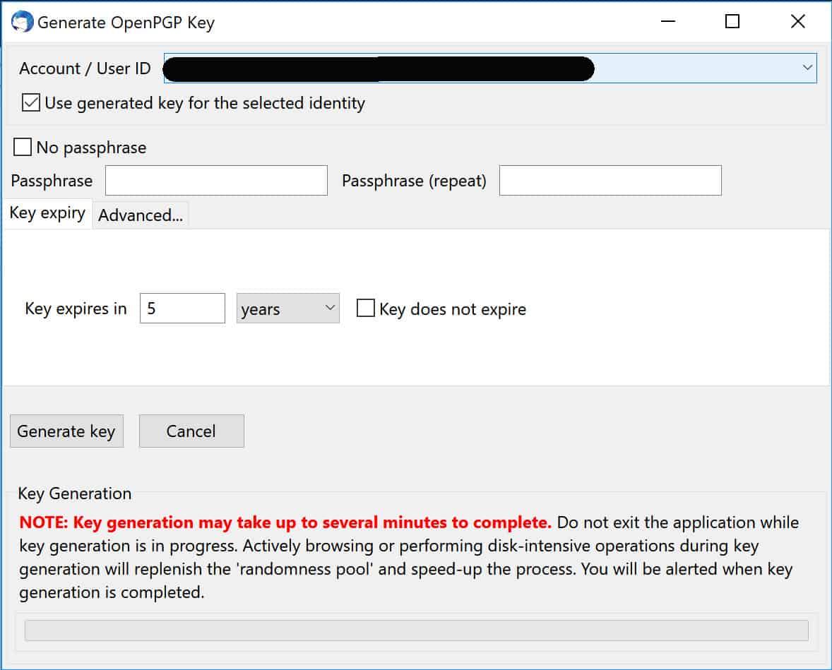 Free Pgp Key Generator Windows
