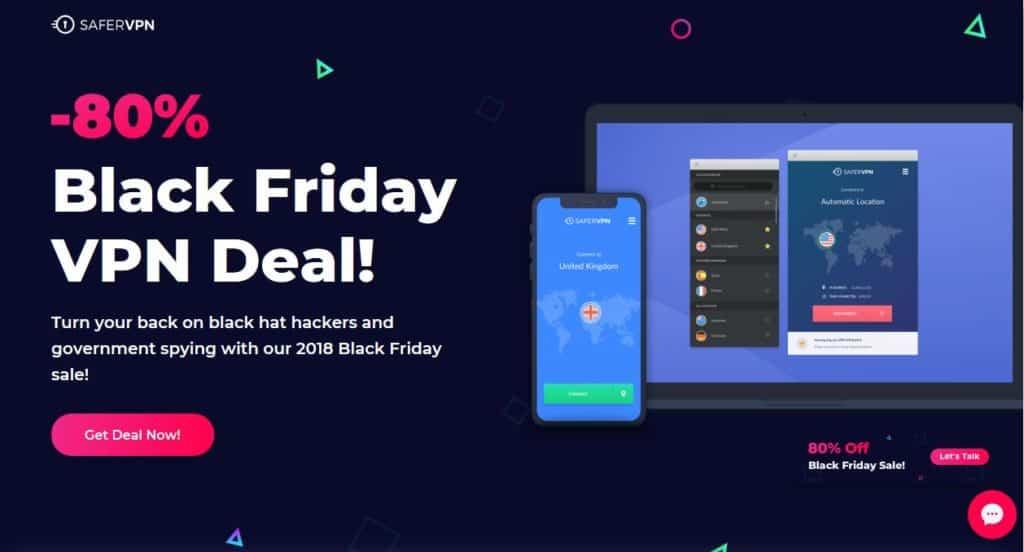 SaferVPN Black Friday deal.