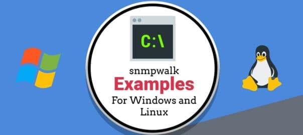 snmpwalk examples for Windows and Linux