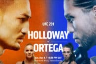 How to watch UFC 231 Holloway vs. Ortega live online anywhere