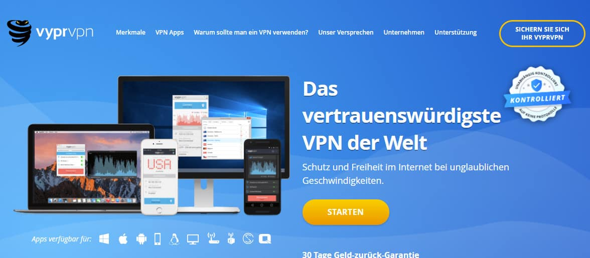 vyprVPN German