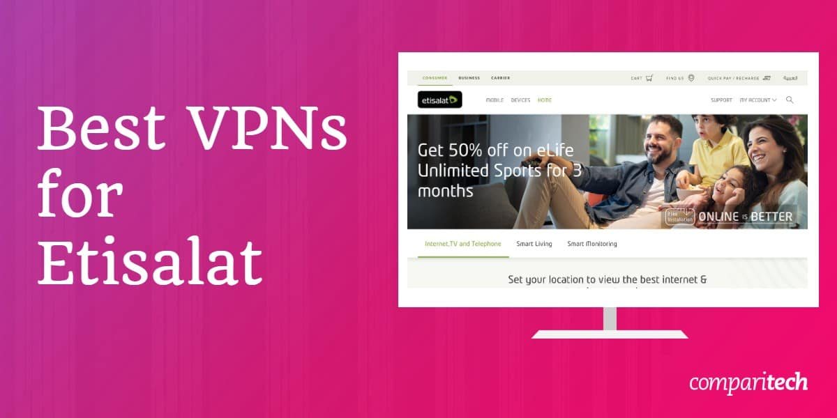 Best VPNs Etisalat