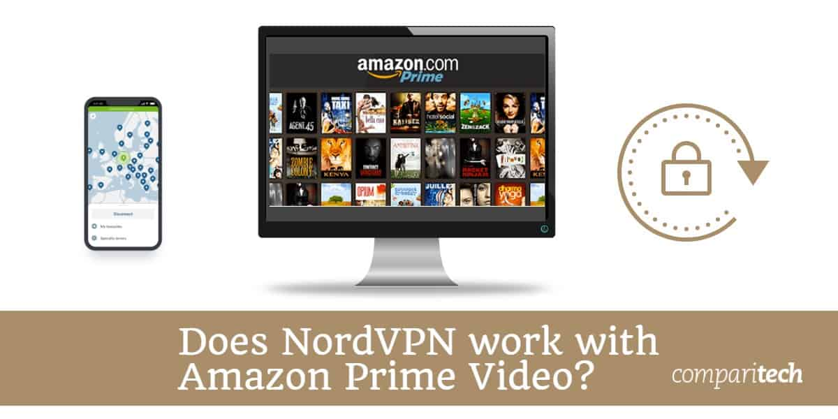 Does NordVPN work with Amazon Prime Video