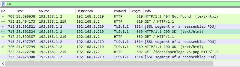 Wireshark Logfile