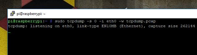 tcpdump - Capture 1