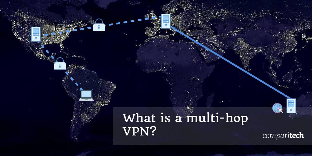 What is a multi-hop VPN