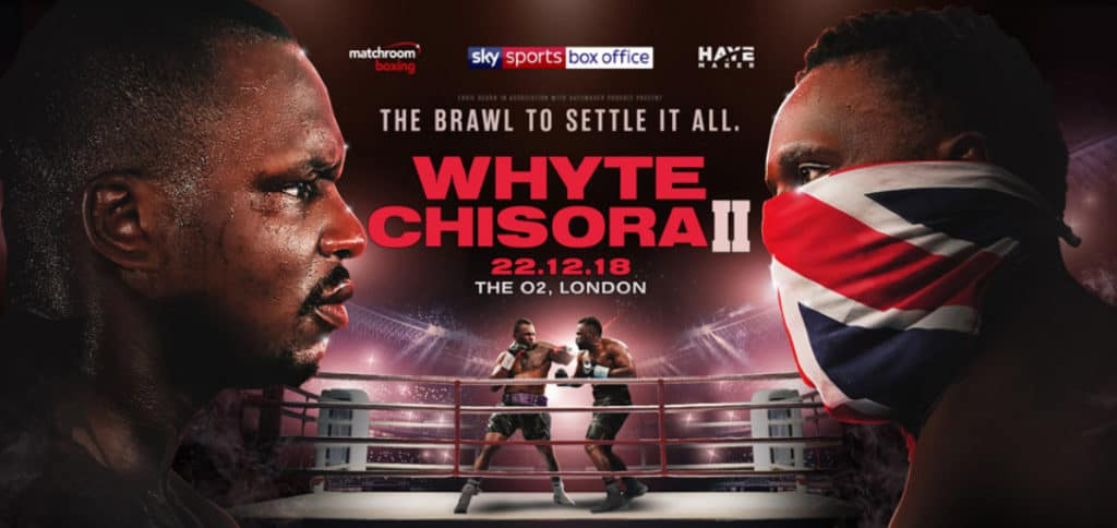 How to Watch Whyte vs Chisora II Online and Live Stream it