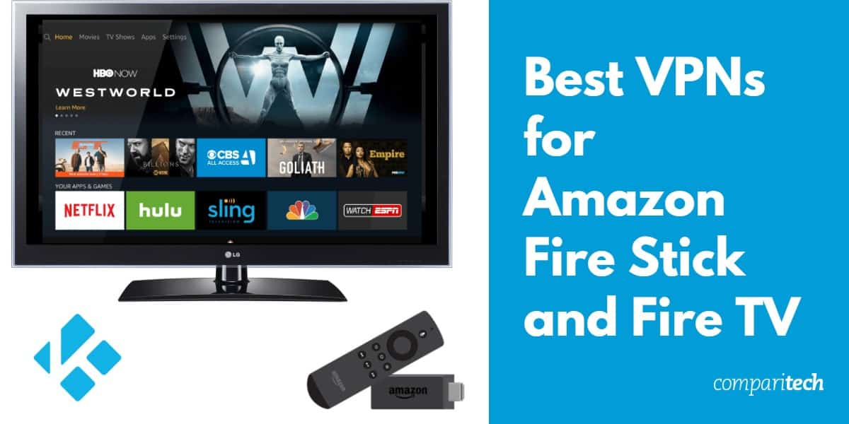 Best VPNs for Amazon Fire Stick and Fire TV
