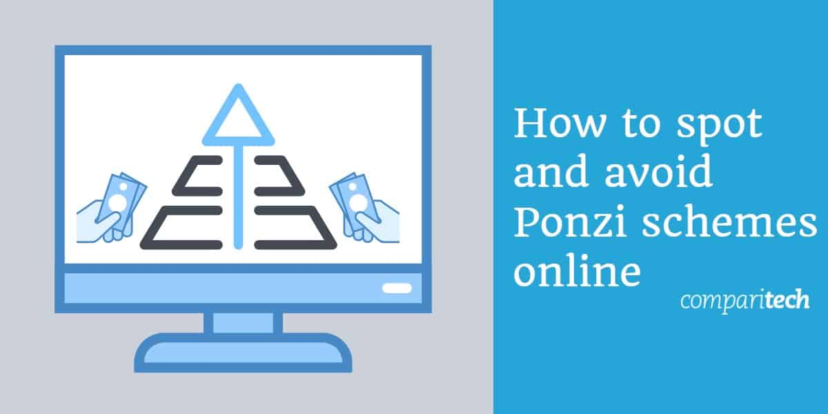 Ponzi and pyramid schemes online