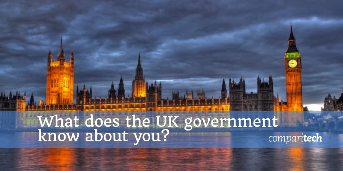 What does the UK government know about you