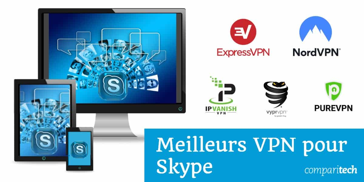 meilleurs VPN pour Skype