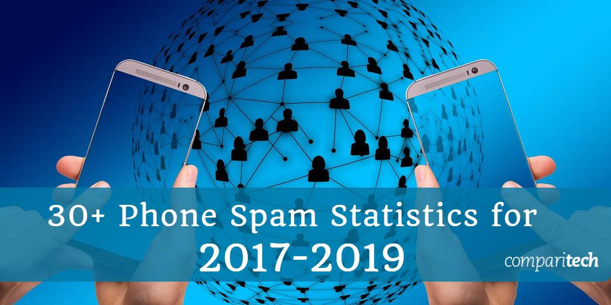 30+ Phone spam Statistics for 2017 - 2019
