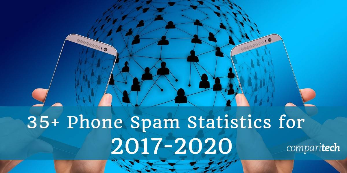 35+ Phone spam Statistics for 2017 - 2020