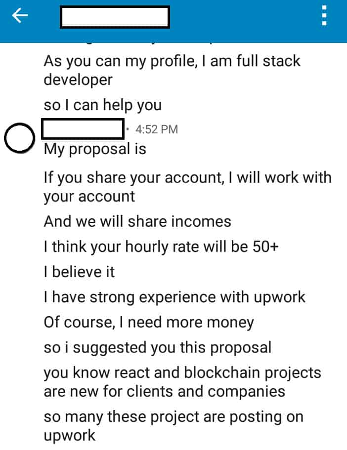 freelance scams