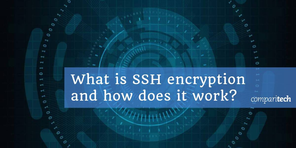What is SSH encryption and how does it work