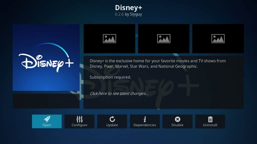 disney+ kodi addon July 2020