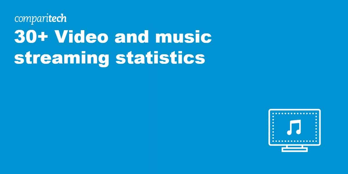 30+ Video and music streaming statistics