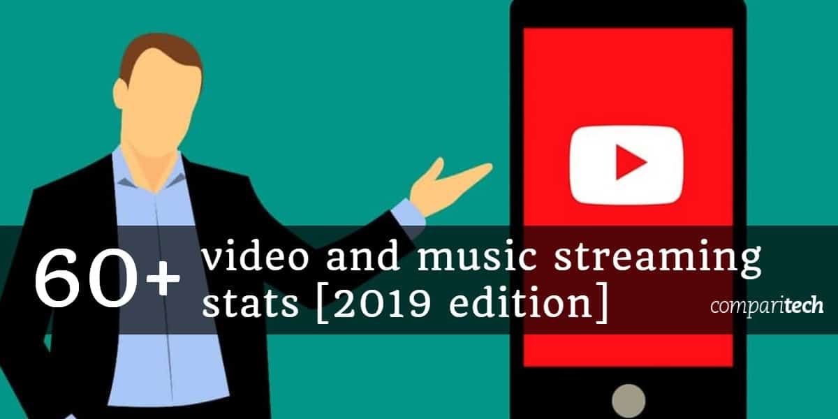 60+ video and music streaming stats