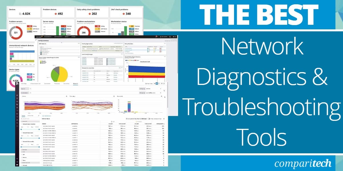 Best Network Diagnostics and Troubleshooting Tools