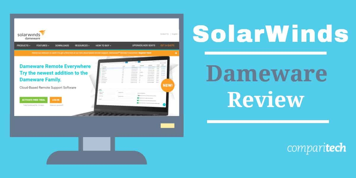 SolarWinds Dameware remote support package review | Comparitech