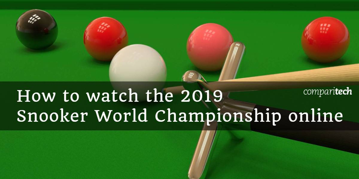 How to watch the 2019 Snooker World Championship