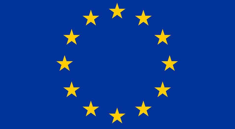 europe flag - european
