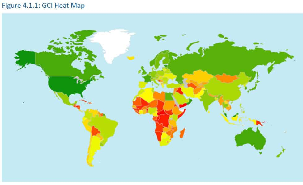 40 cybersecurity global index statistics 2019