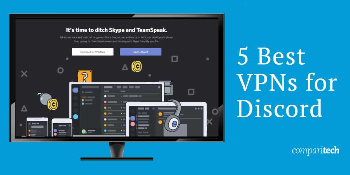 5 Best VPNs for Discord so you can Access it (Securely) Anywhere