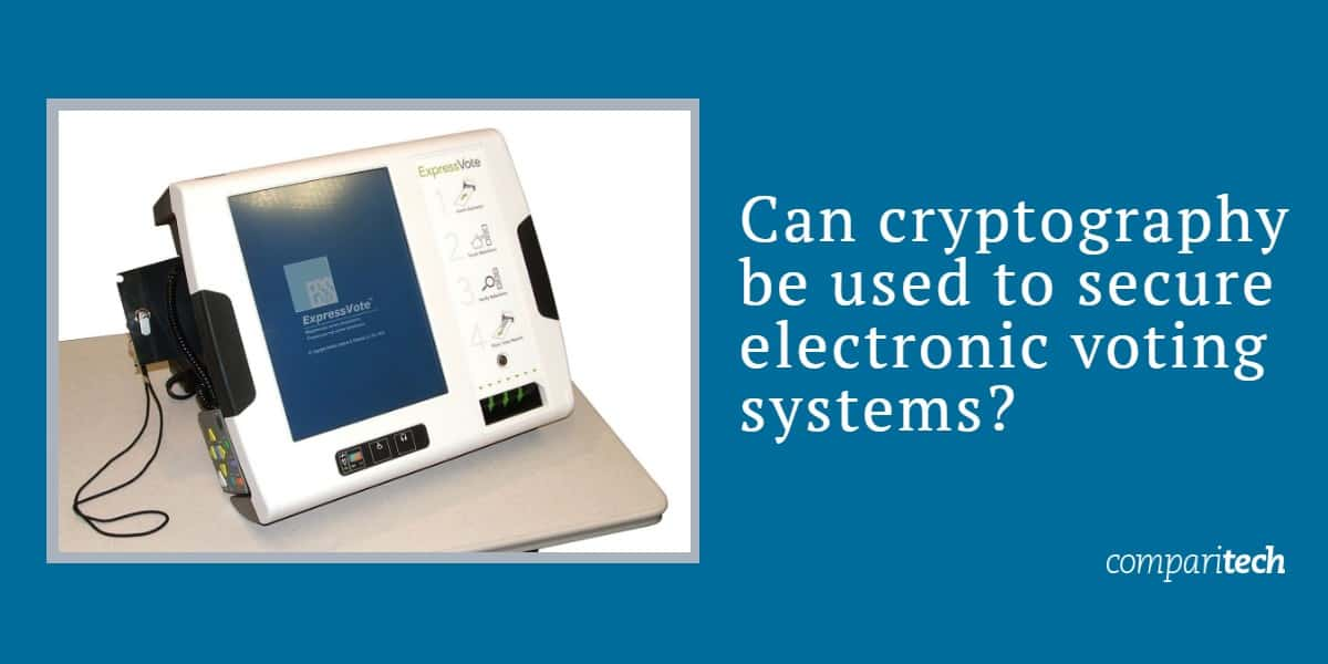 Can cryptography be used to secure electronic voting systems_ copy
