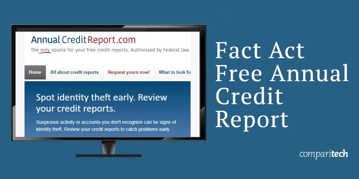 Fact Act Free Annual Credit Report