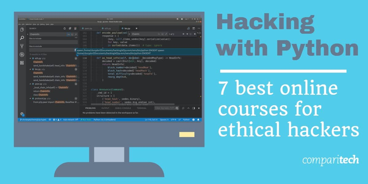 Hacking With Python 7 Best Online Courses For Ethical Hacking
