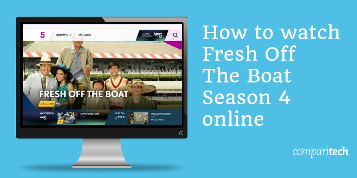 How to watch Fresh Off The Boat season 4 online