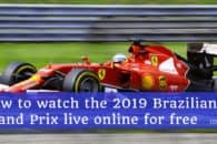 How to watch the 2019 Brazilian Grand Prix live online for free