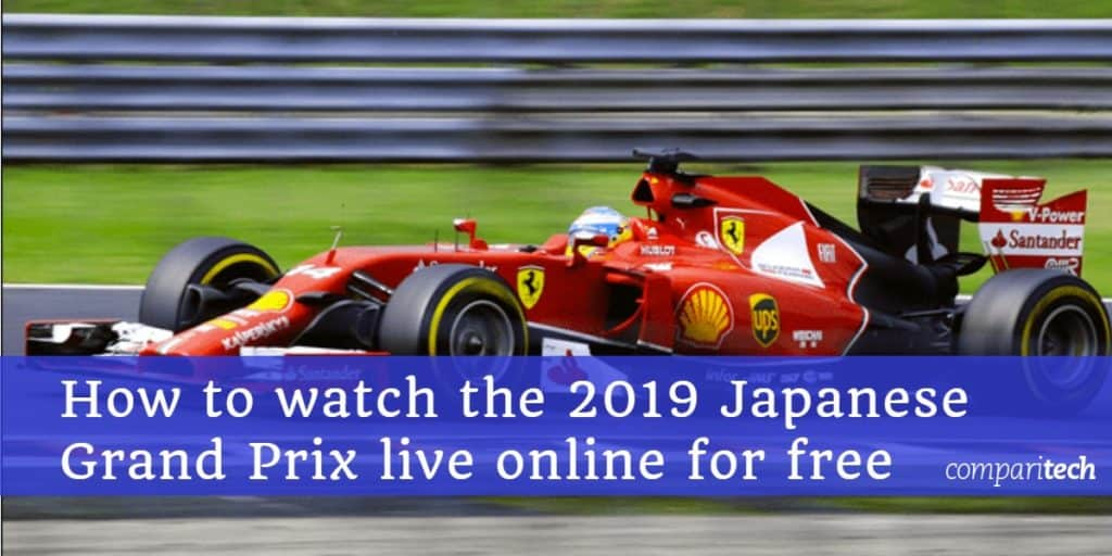 How to watch the 2019 Japanese Grand Prix live online for free