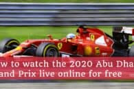 How to live stream the Abu Dhabi Grand Prix 2020 online for free