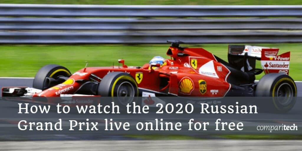 How to watch the 2020 Russian Grand Prix live online for free