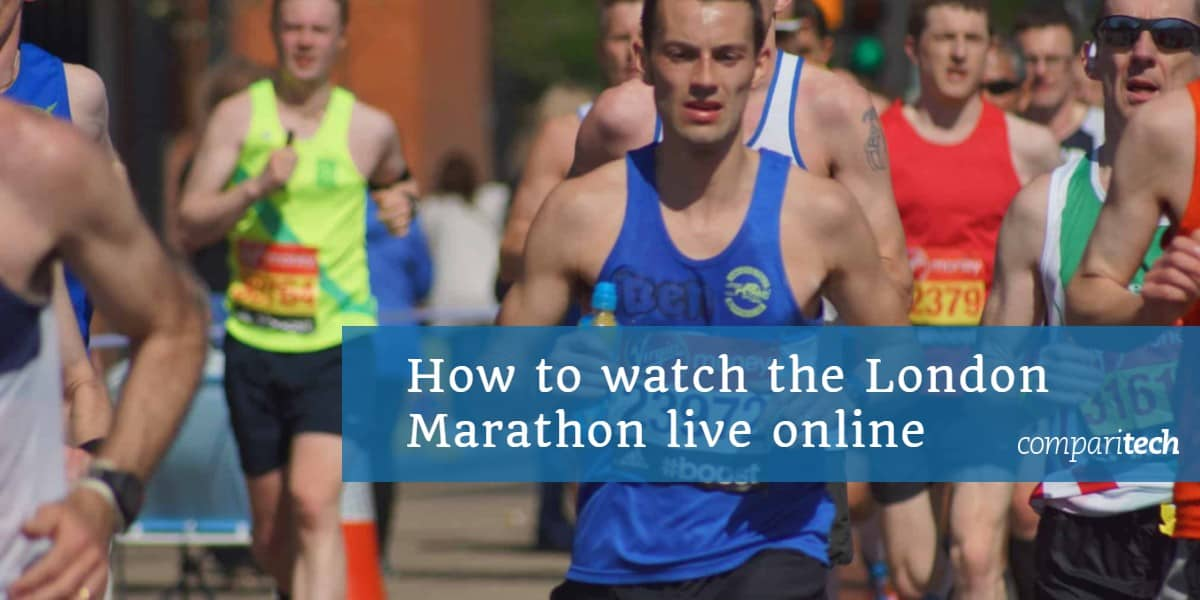 How to watch the London Marathon live online from anywhere