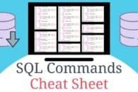 SQL Commands Cheat Sheet