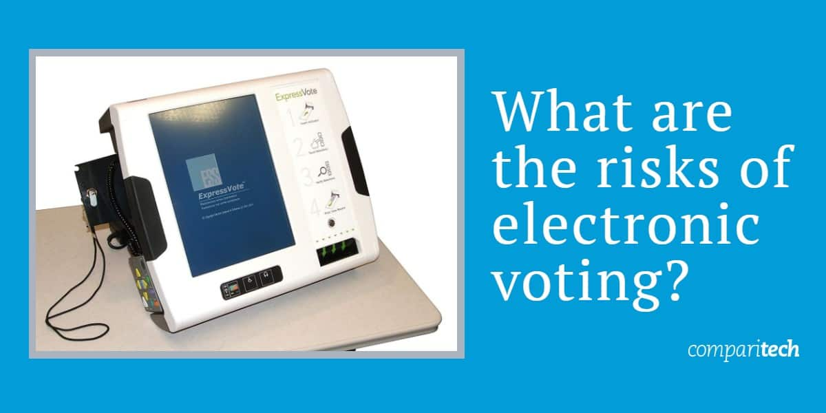 What are the risks of electronic voting