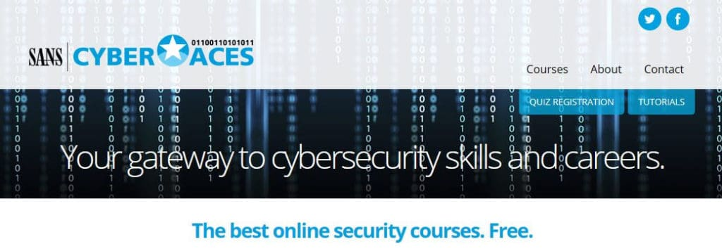 SANS Institute cybersecurity course online.
