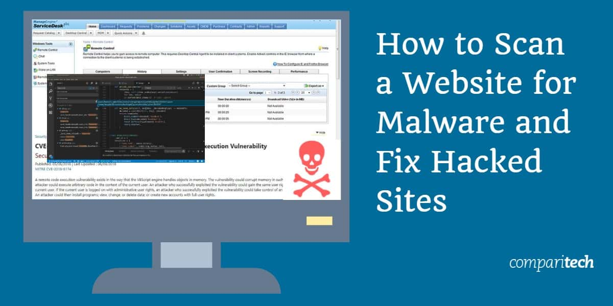 How to Scan a Website for Malware and Fix Hacked Sites