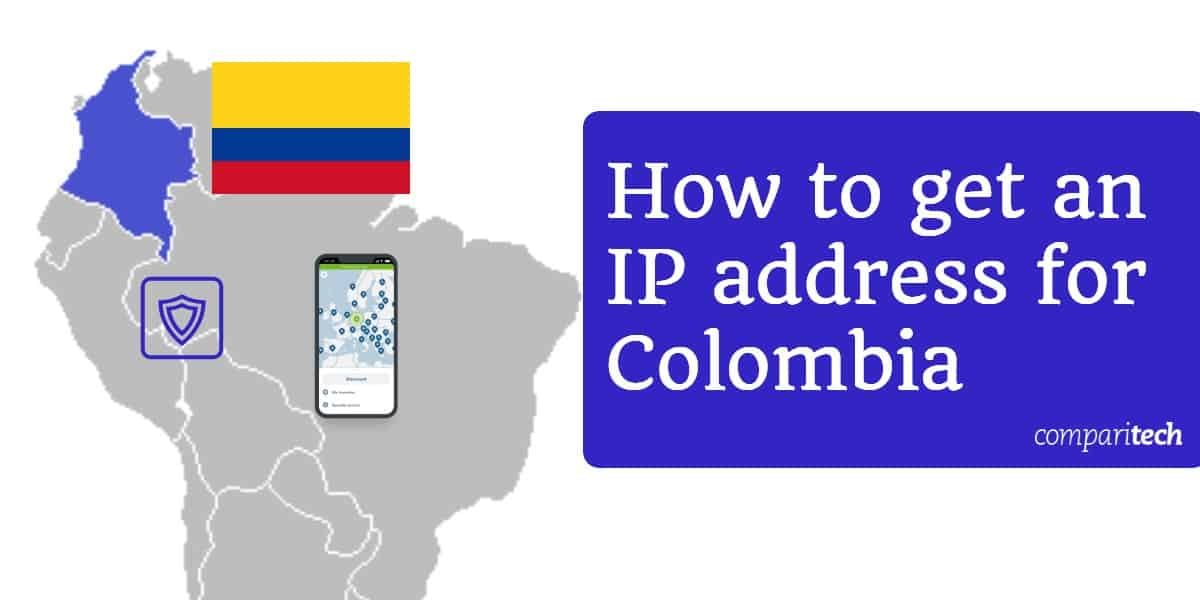 IP address for Colombia