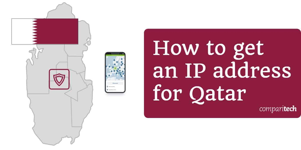 How to get an IP address for Qatar